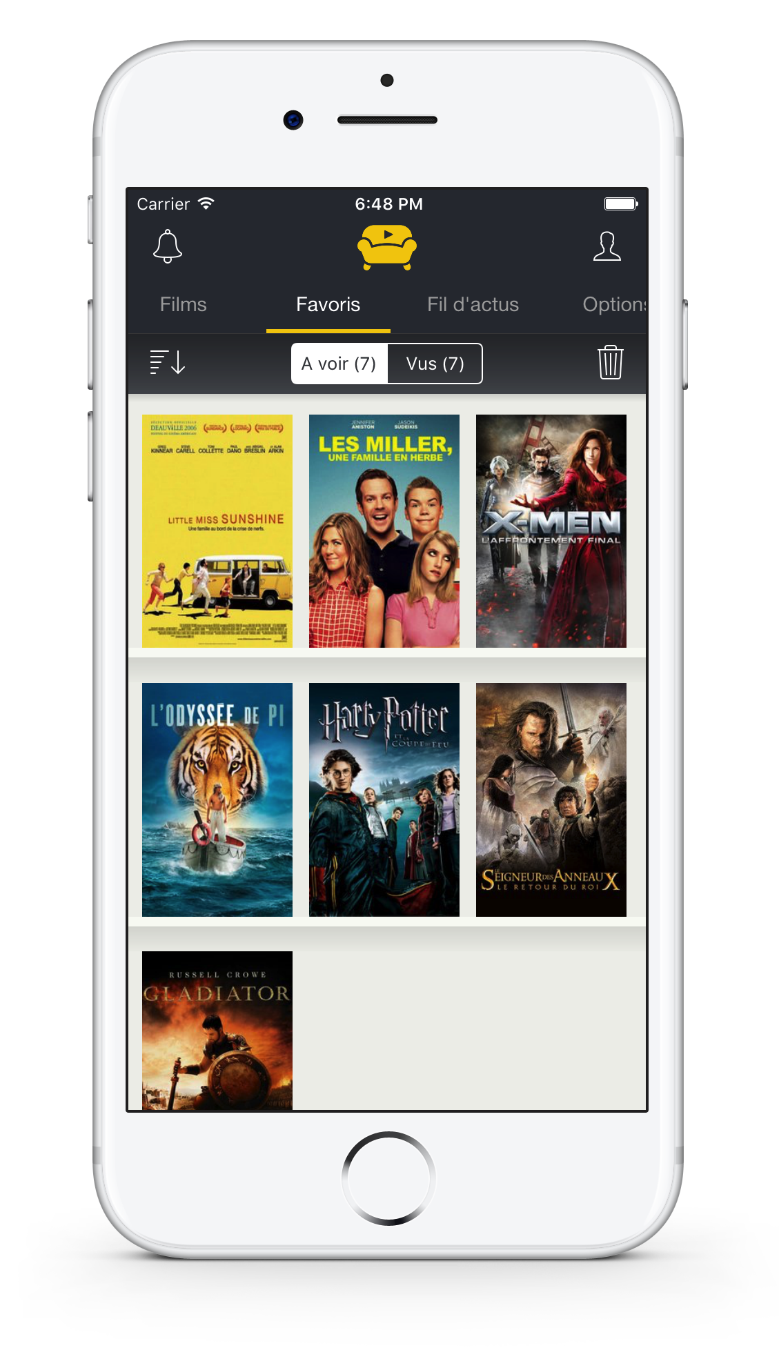 Screenshot of Movidea Movie Finder